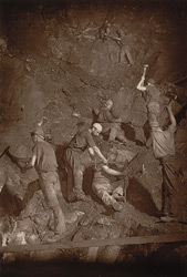Underhand Stoping, East Pool Mine